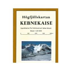 Norstedts Högfjällskartan Kebnekaise