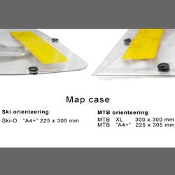 Nordenmark Adventure Kartplast MTB A4+ 225*305