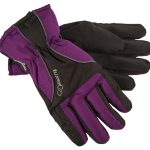 Ultra Women Gloves, Deep Purple, 8,  Tuxer