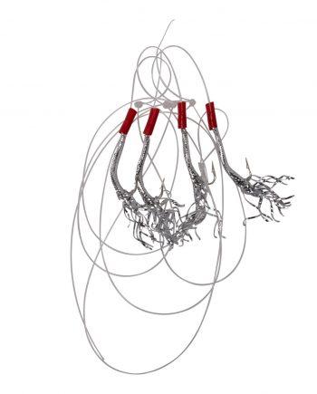 4 Hooks Tinsel Mackerel T5-3/0