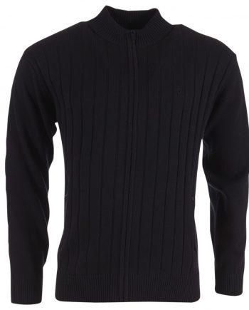 Ap Cardigan Zip 1163 Black