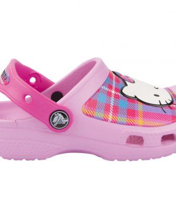 Cc Hello Kitty Plaid Clog