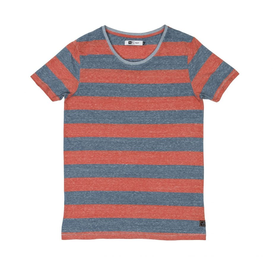 Burn Out Stripes Tee