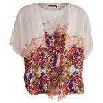Price Liv Kimono, Creme Comb, 38,  Långärmade Skjortor