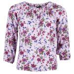 Must Kylie Flower Top, Pink Flower, 38,  T-Shirt