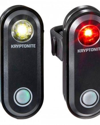Cykelbelysningsset Kryptonite Avenue F-65 och R-30